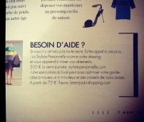 Article, magazine Elle